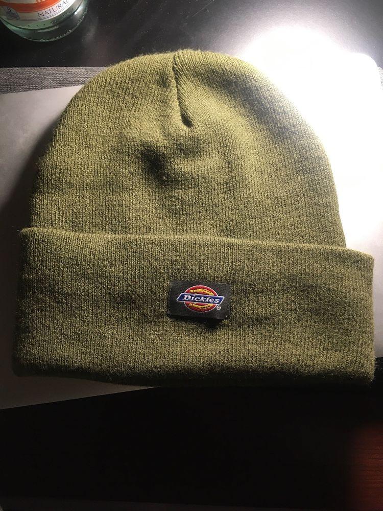 a0214872509 Dickies Core Cuffed Beanie Hat Accessory Beanie Hat Adult Mens Color Dark  Green  fashion