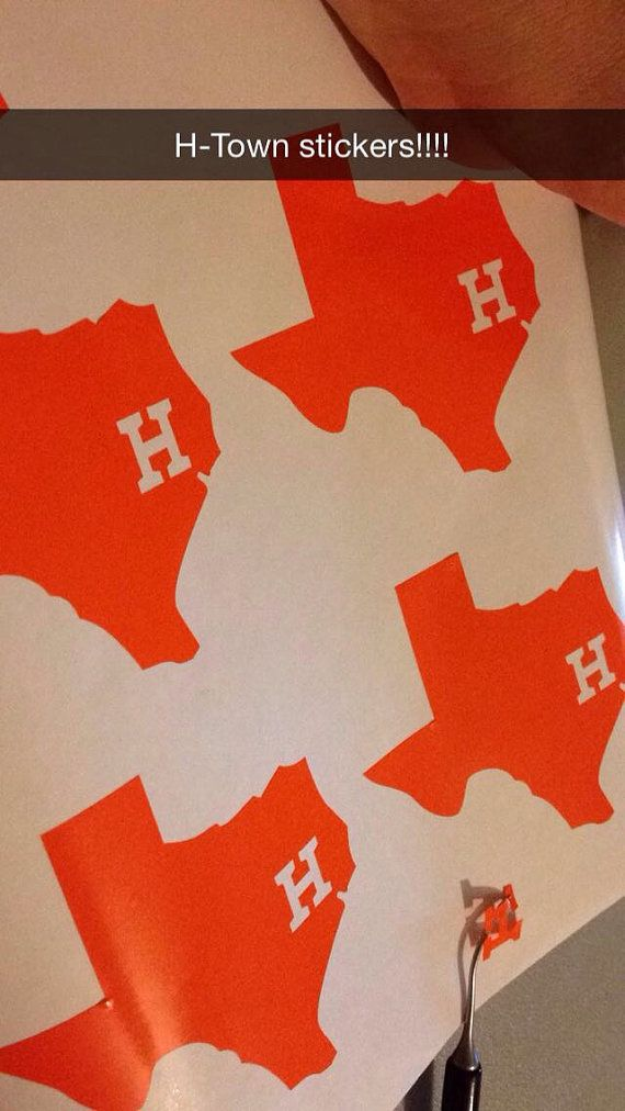 H Town Car Stickers