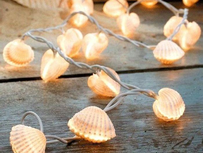 Que faire avec des coquillages 60 photos et tutoriels captivants deco theme pinterest - Decoration coquillage mer ...