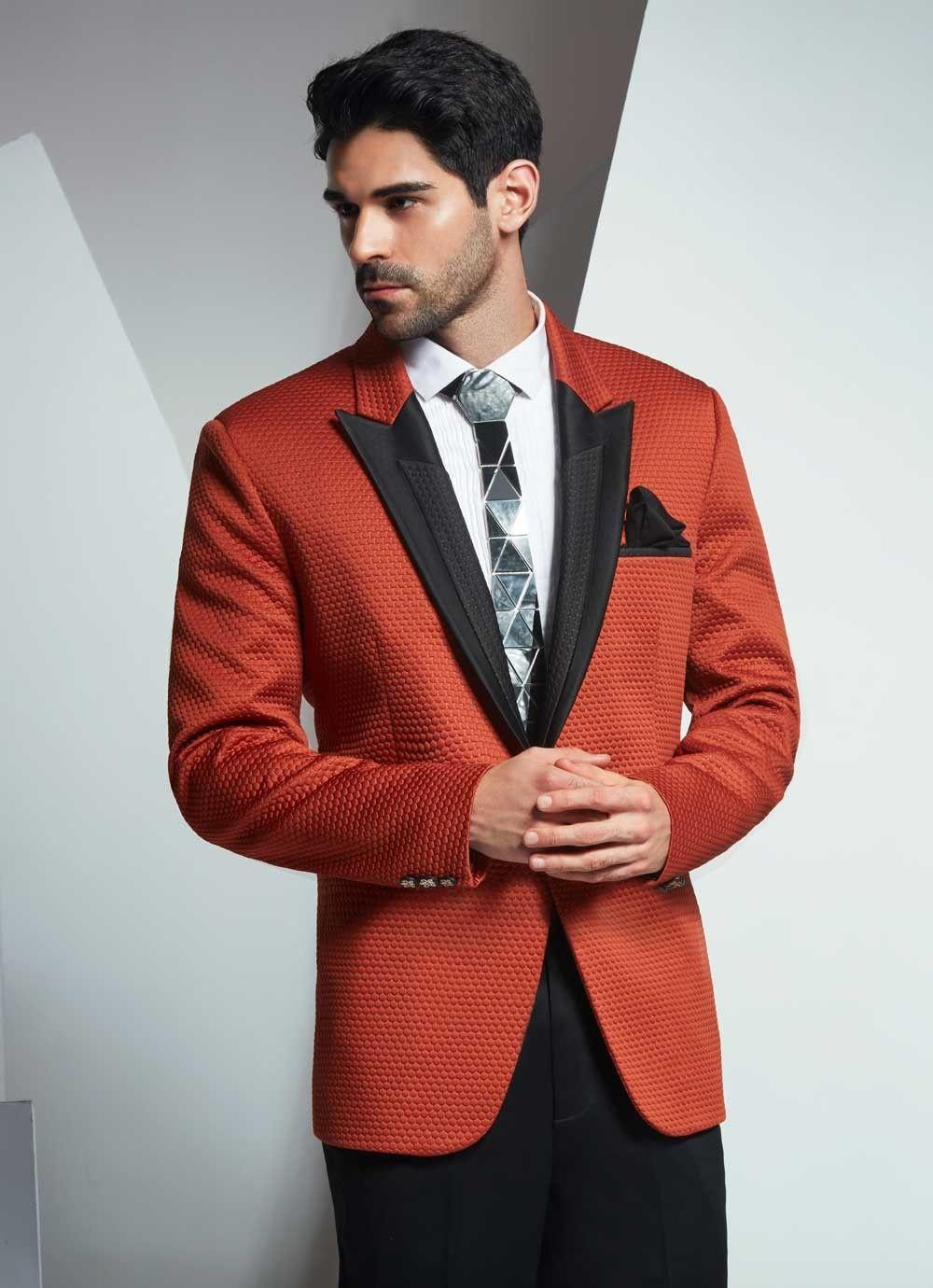 Admiration of designer men's clothing