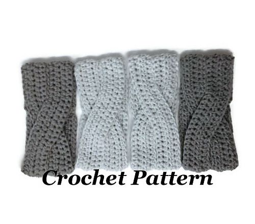 Ravelry: Crossover Headband pattern by DS Designs Handmade