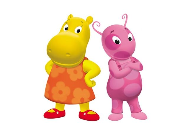 Uniqua and Tasha - The Backyardigans. Tasha is rational ...