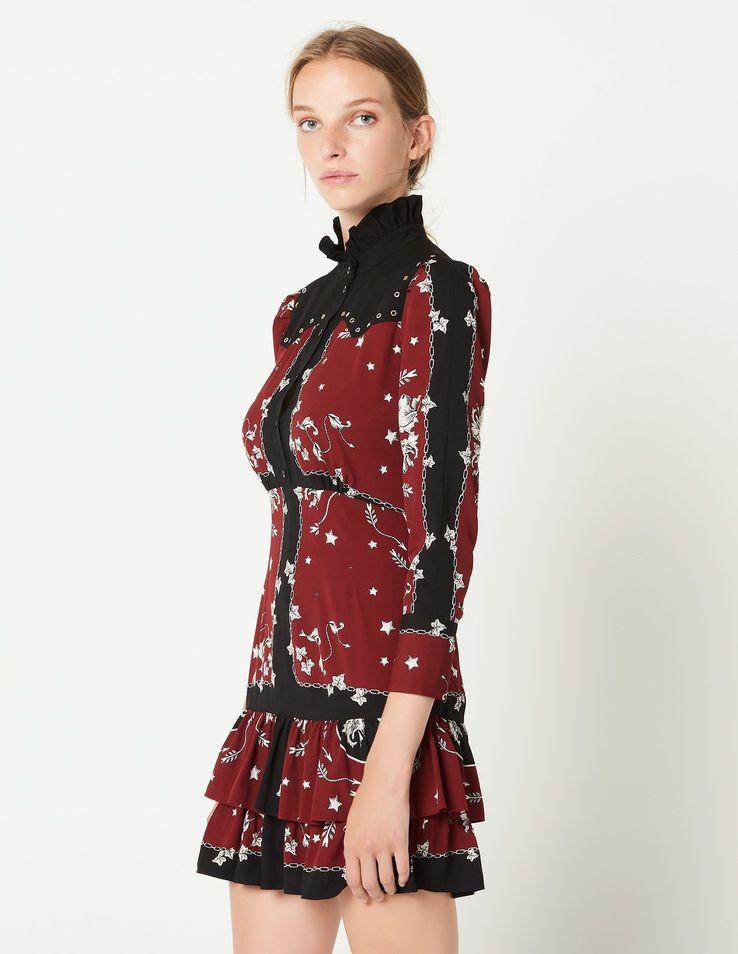 44a809e0d49 Short printed dress in 2019