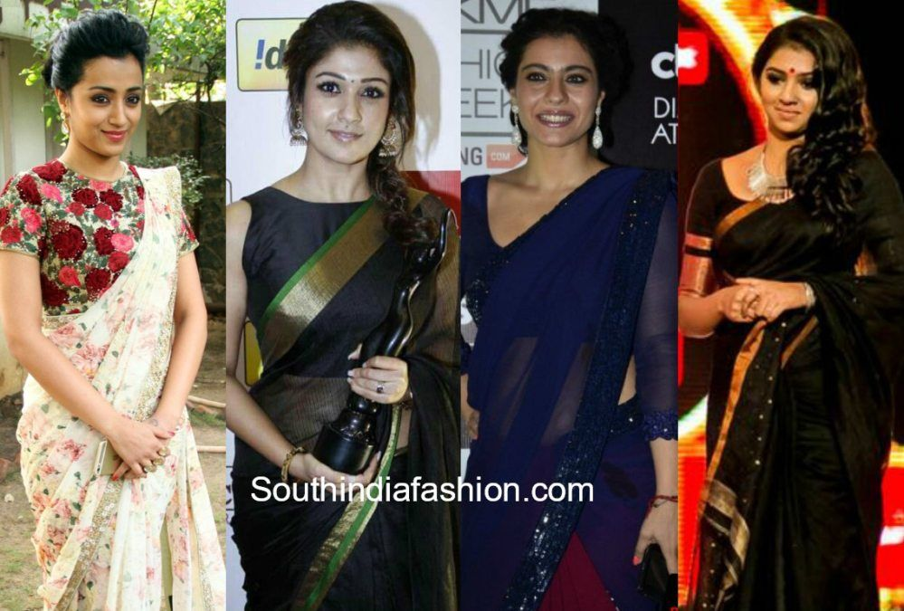 What Colour Saree Would Best Suit A Dark Skin Girl -8630