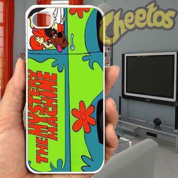 The Mystery Machine Van Scoby Doo - For iPhone Case,iPhone 4/4S/5/5S/5C, Samsung S3/S4/S5/S3 Mini/S4 Mini