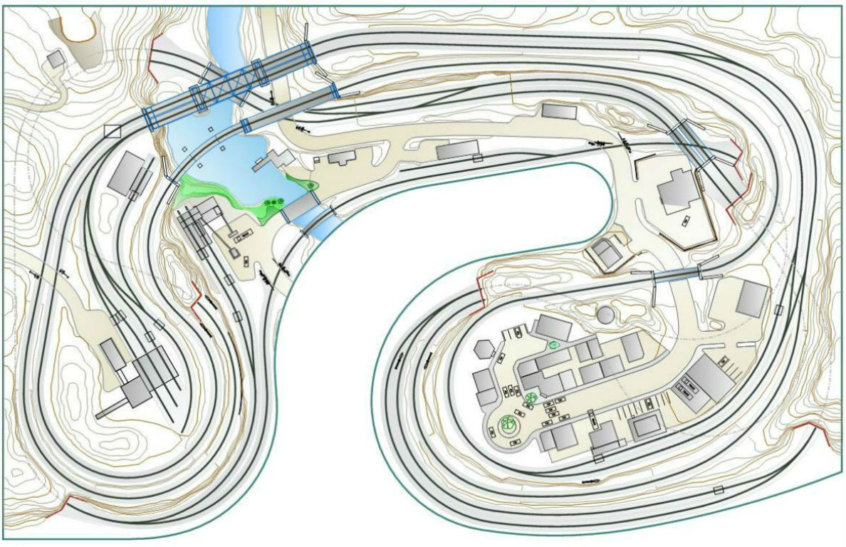 dcc wiring n scale track layout planning model scenery  amp  structure layout plans  layout planning model scenery  amp  structure layout plans