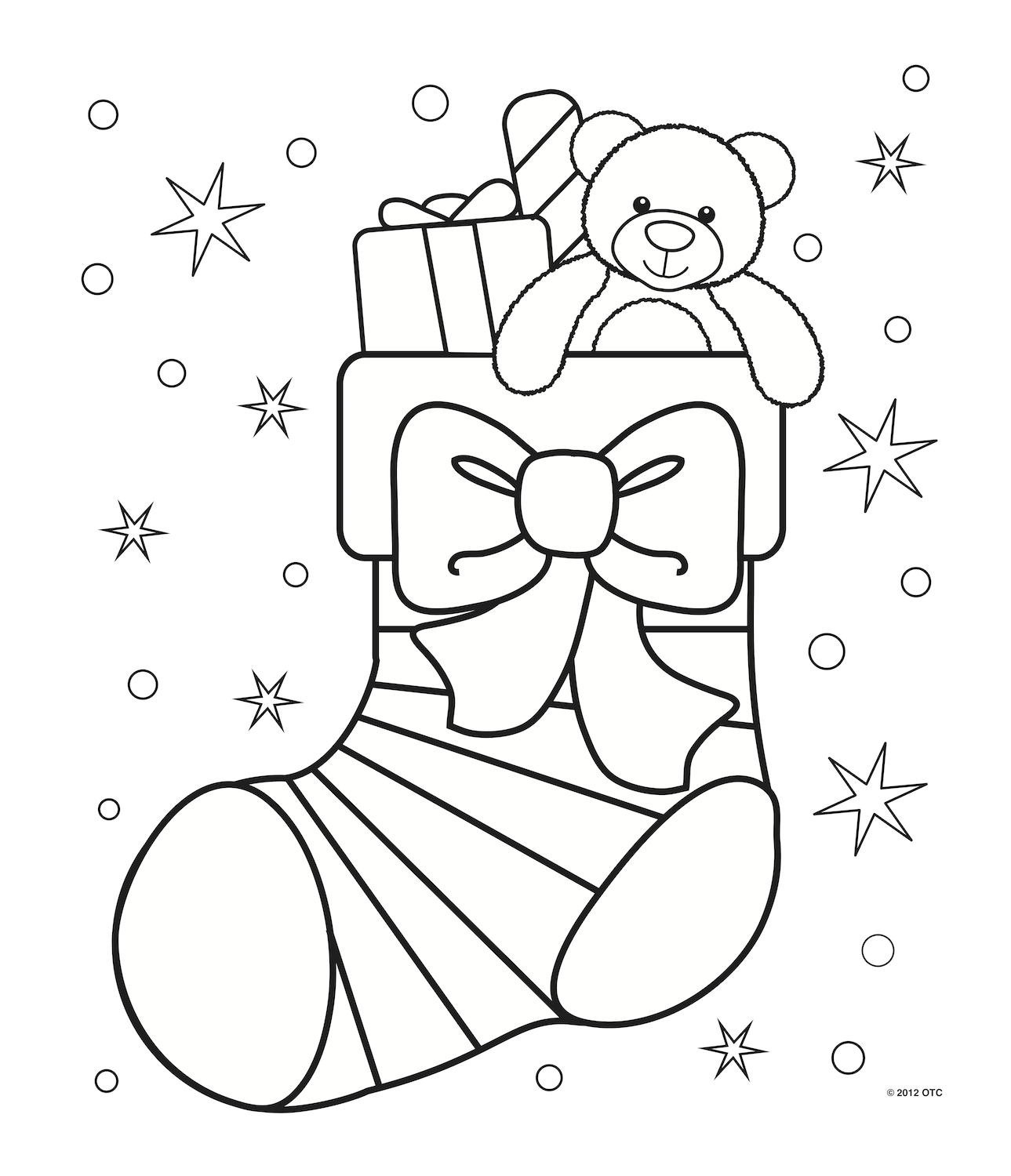 Coloriage Christmas Coloring Pages Free Christmas Coloring Pages Christmas Tree Coloring Page