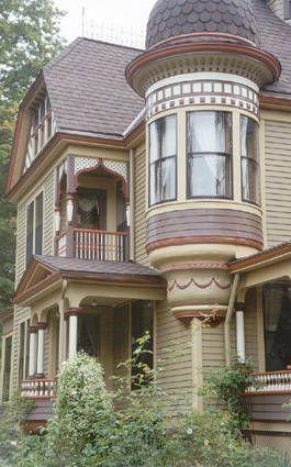 Color Scheme For House split level addition home design | house color schemes, victorian