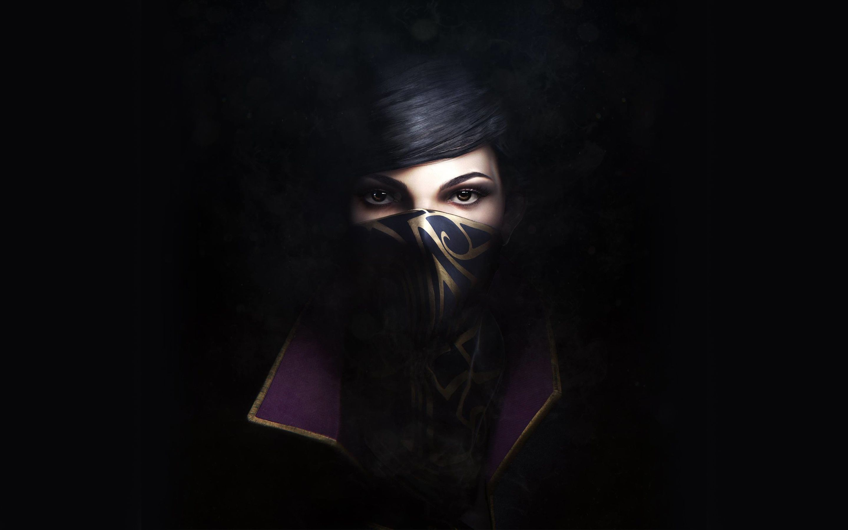 Dishonored 2 Emily Wallpapers Mobile Click Wallpapers Digital Wallpaper Dishonored Dishonored 2