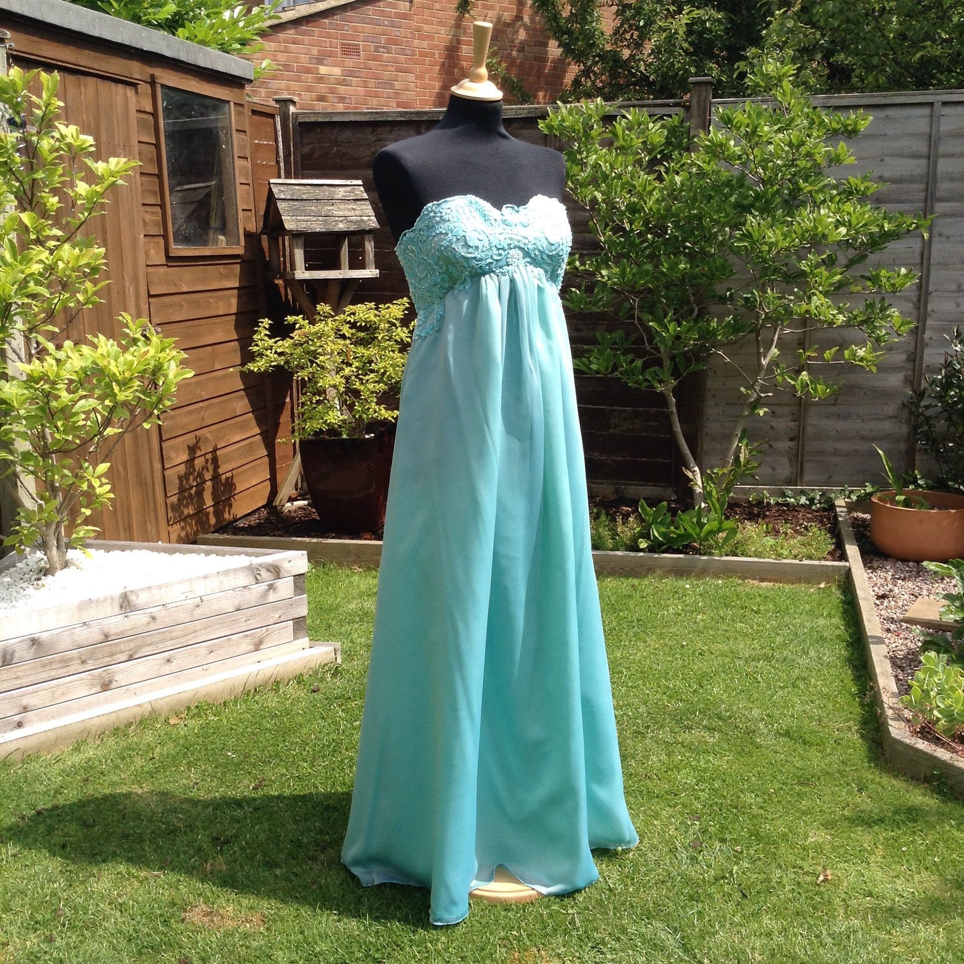 Turquoise wedding dresses  Pin by Susie Grist Couture on Susie Grist Couture Wedding Dresses