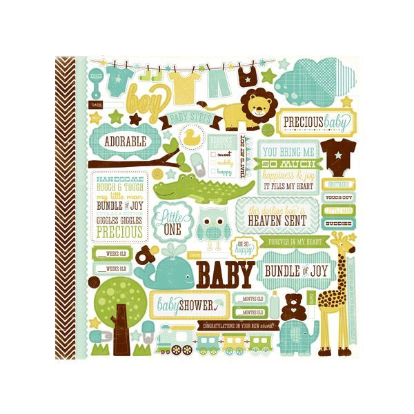Baby Girl Mini Book Kit | Kim's Card Kits | Handmade Mini Book Kit