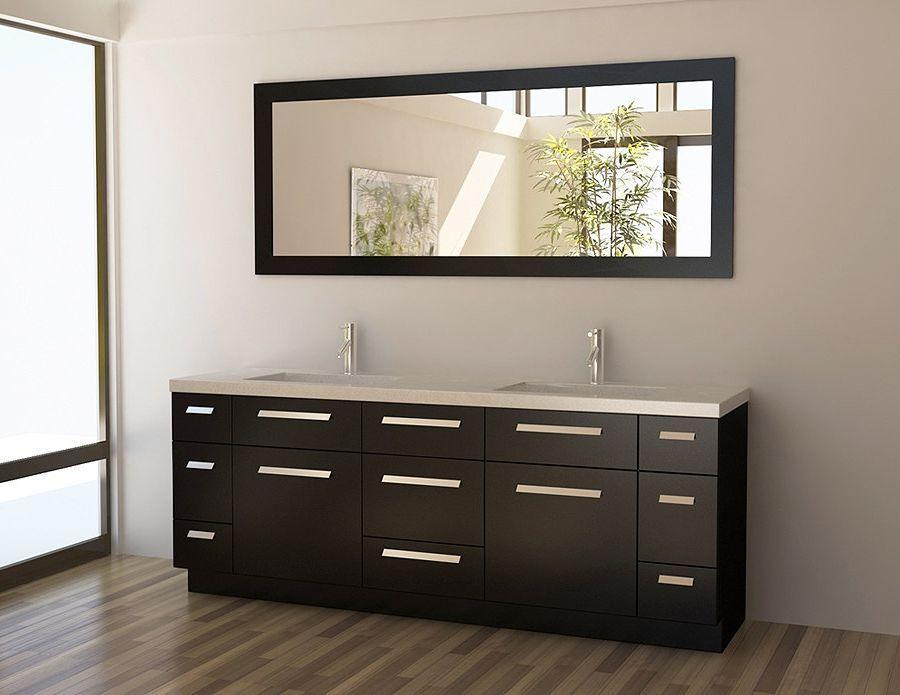 38 Building Efficiency Double Bathroom Vanities Photos Double