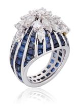 A Sapphire and Diamond Ring | Fashion Jewelry Modern | Rosamaria G Frangini