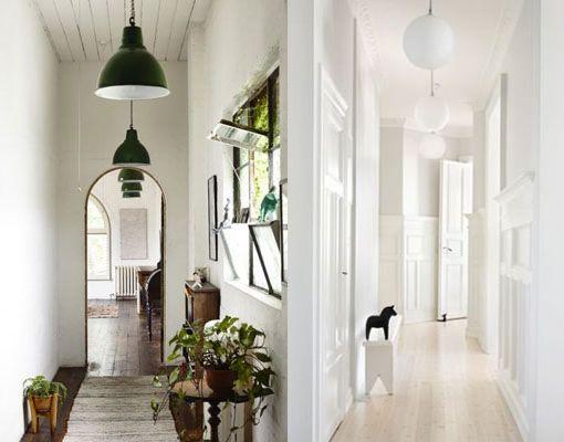 Lamparas colgantes para pasillos iluminacion para for Plafones exterior iluminacion
