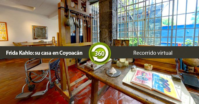 Virtual Tour Of La Casa Azul Have Students Describe And Answer