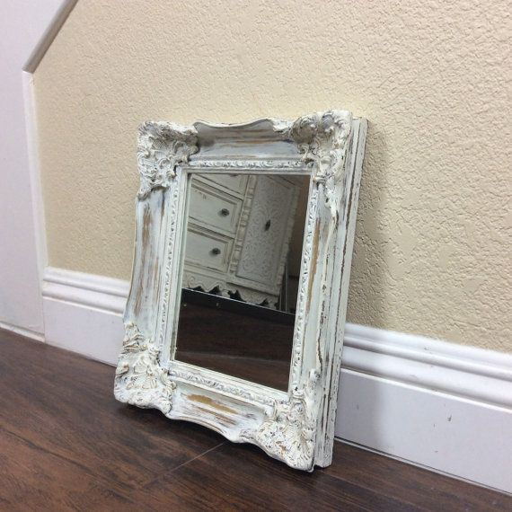 Shabby Chic Wall Mirror mirror, for sale, white mirror, ornate wall mirror, home and