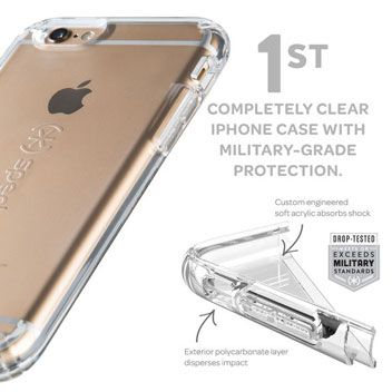 56e1d48f404 Speck CandyShell iPhone 6S Plus   6 Plus Case - Clear