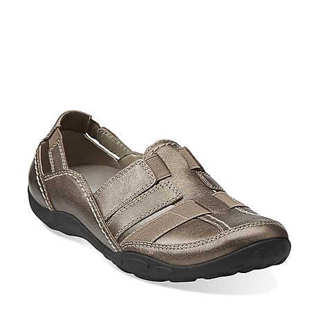 Haley Stork Pewter Leather - Womens