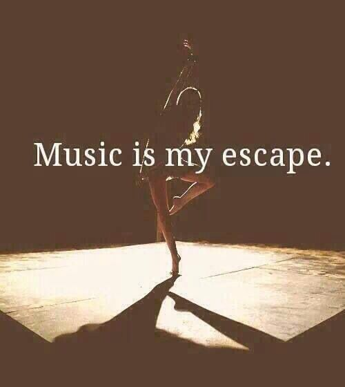 When life gets irritating i turn on music and forget about the world