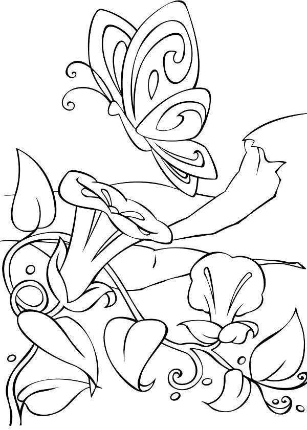 coloring page Barbie FairyTopia - Barbie FairyTopia | Paper Art ...