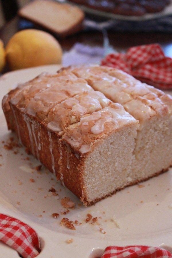 The Best Dang Lemon Pound Cake