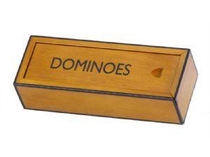wooden dominoes box | luxury domino box | executive wooden dominoes box | dominoes box | executive games