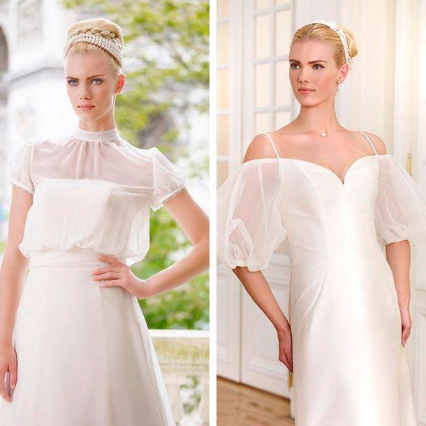 manga tipo globo para tu vestido de novia | corte y confeccion