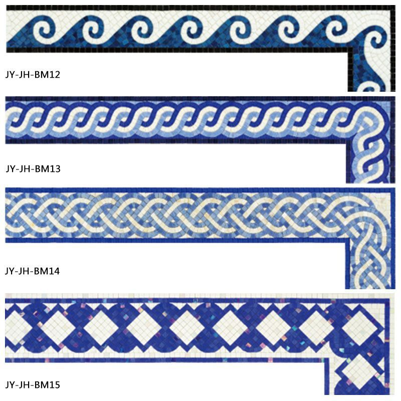 Decorative Pool Tile Adorable Decorative Handmade Swimming Pool Border Tile Floor Border Tiles Review
