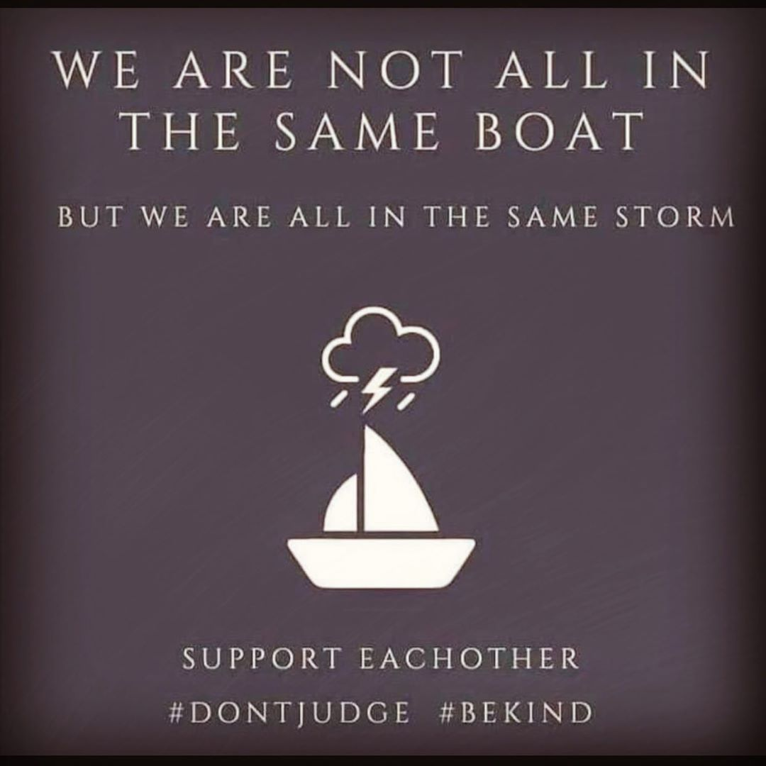 """Melissa Parkinson on Instagram: """"WE ARE NOT IN THE SAME BOAT ... I heard  that we are all in the same boat, but it's not like … in 2020 
