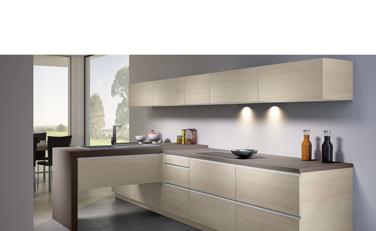 cuisine design - melamine - arcos sign. un confort d'utilisation ... - Evier Cuisine Schmidt