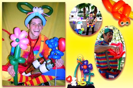 Have a Balloon Artist at your next event and all your guests will smile!  Silly, Sheik Balloon Magic!