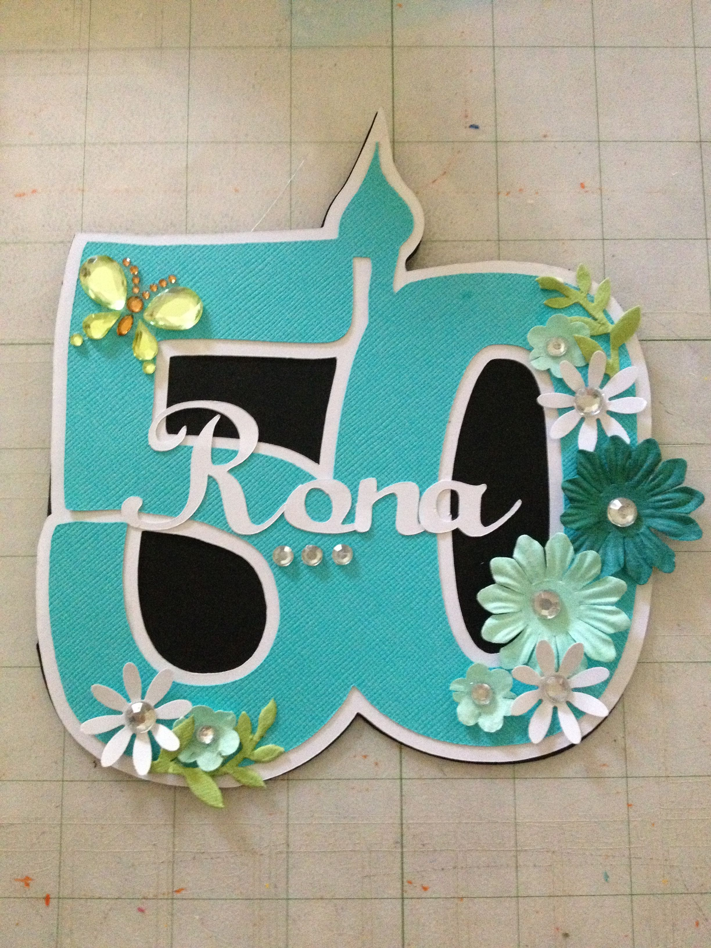 Pin By Lu Anne Salak On Cards Happy Birthday Cards 50th Birthday Cards Card Making Crafts