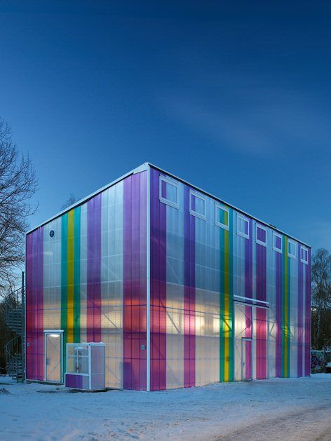 CYCLOPEN , Stoccolma, 2013 - Victor Marx  #polycarbonate #architecture