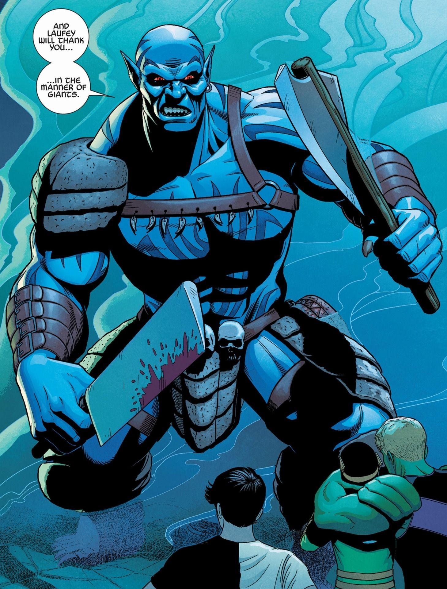 Laufey Is The Father Of Loki And King Of The Frost Giants Comic Books Art Comic Villains Marvel Villains