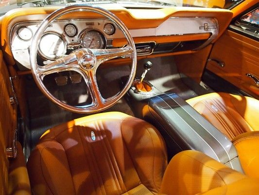 1967 ford mustang shelby serious as a heart attack 67 mustang fastback grey with camel butterscotch interior