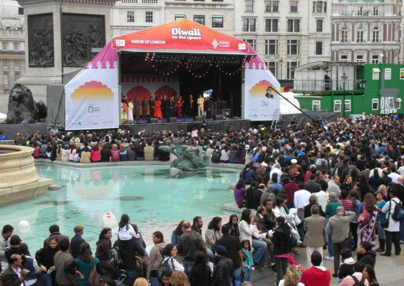HERITAGE EVENTS. Diwali in Trafalgar Square