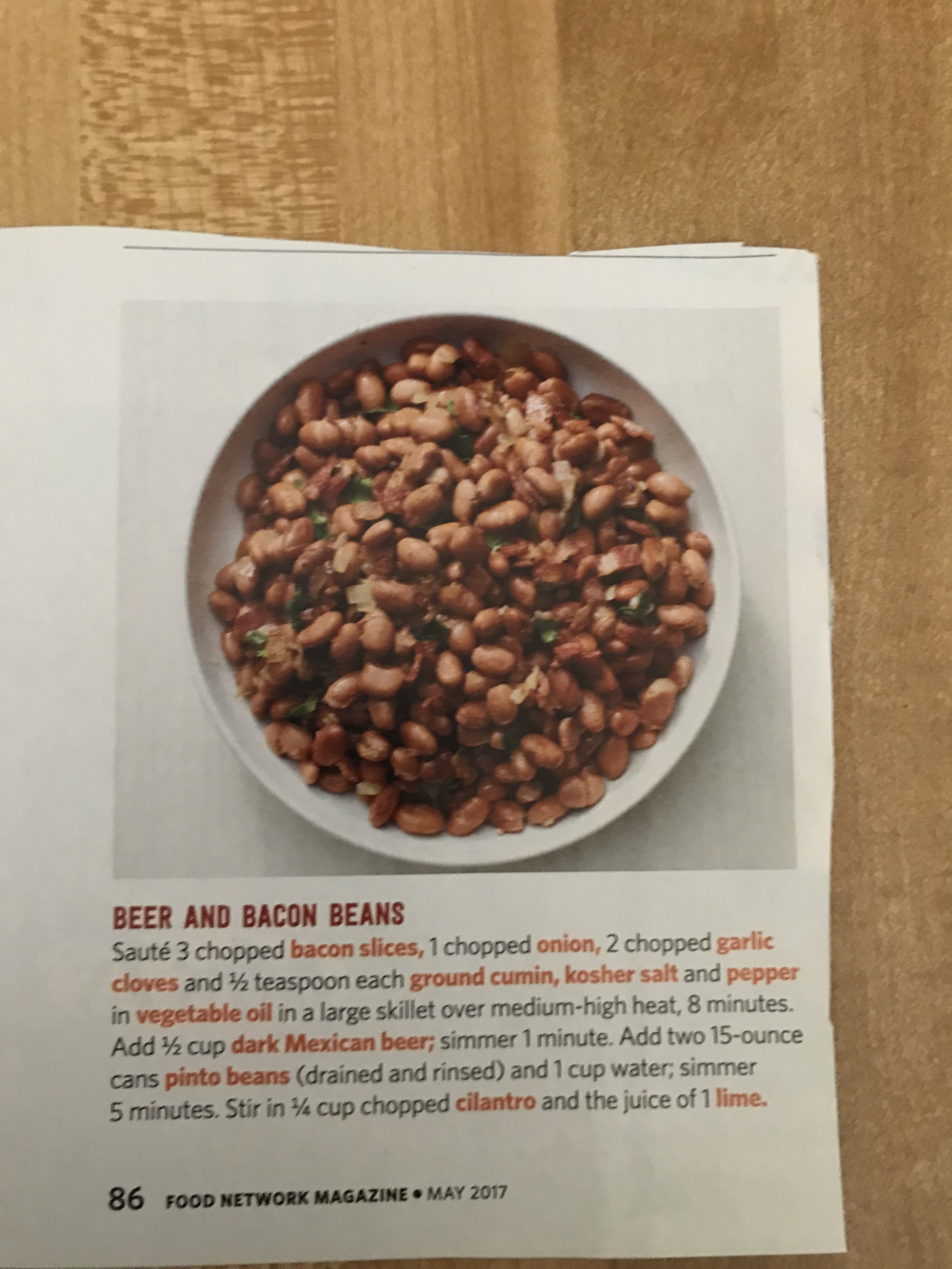 Beer And Bacon Beans Dog Food Recipes Food Bacon