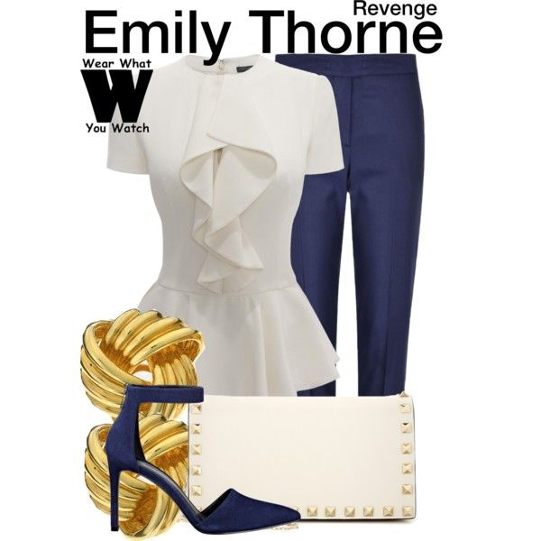Inspired by Emily van Camp as Emily Thorne on Revenge.