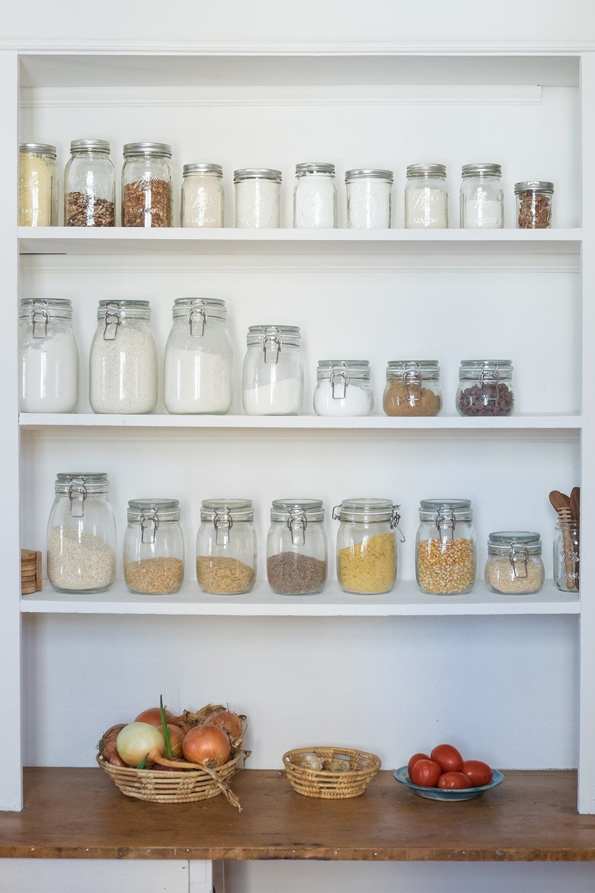 The Ideal Pantry Looks Nothing Like You\'d Expect | Shallow, Pantry ...