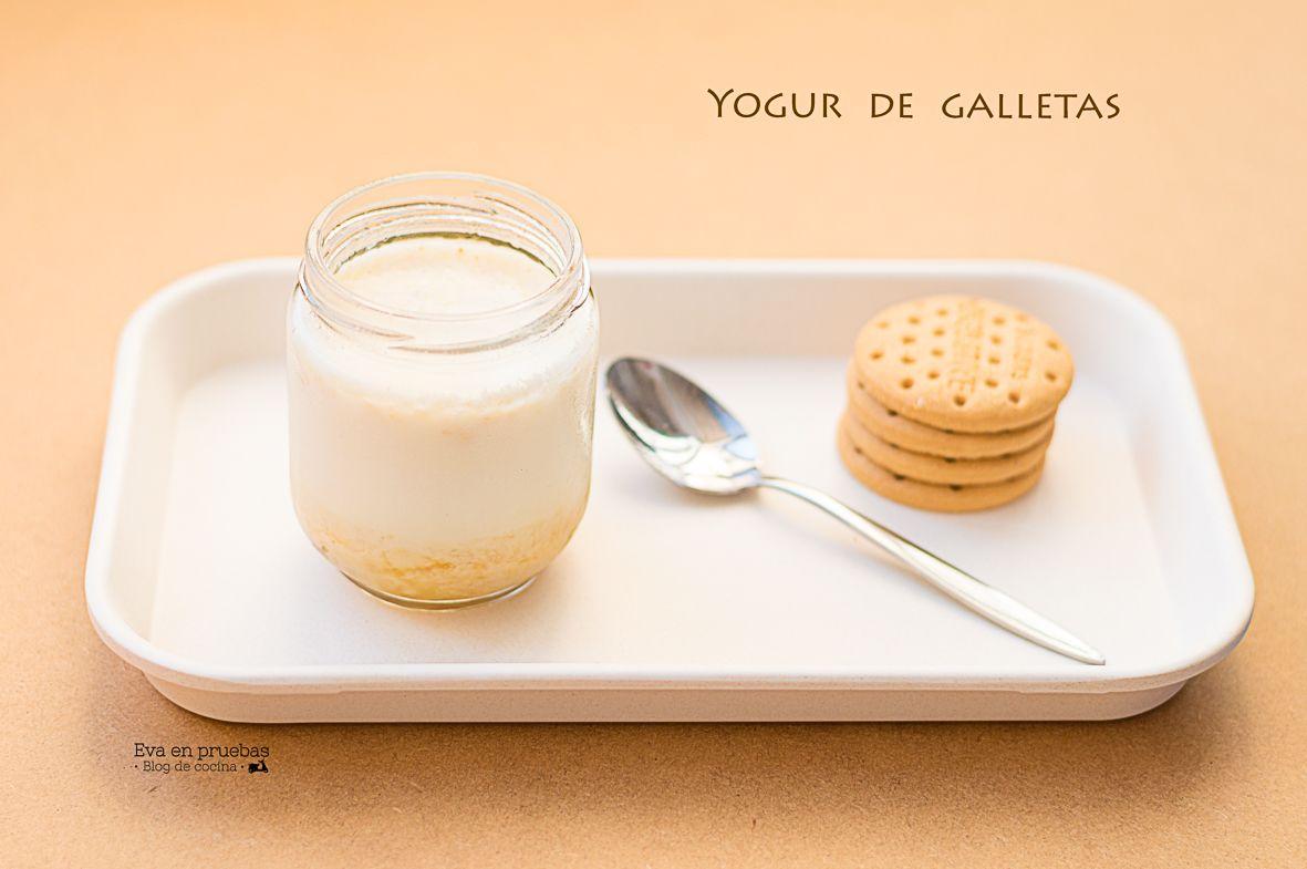 Yogur Con Galletas Y Mermelada Recetas Con Yogur Yogur Y Galletas