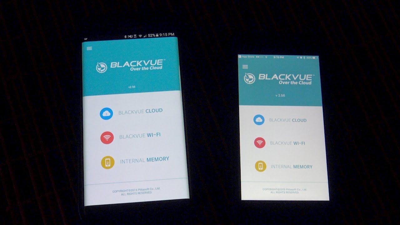 Blackvue dr650s2ch dash cam pt 2 blackvue mobile app