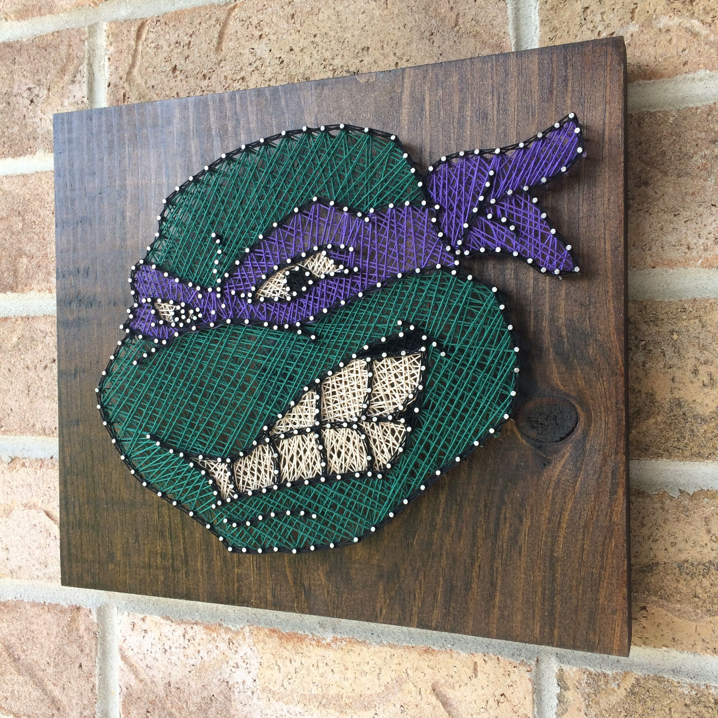 Tmnt String Art String Art Pinterest String Art Craft And
