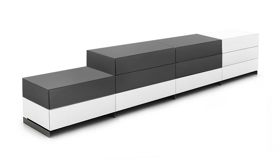 Modular box system | Brix Standard 5 - Weiß/Schwarz