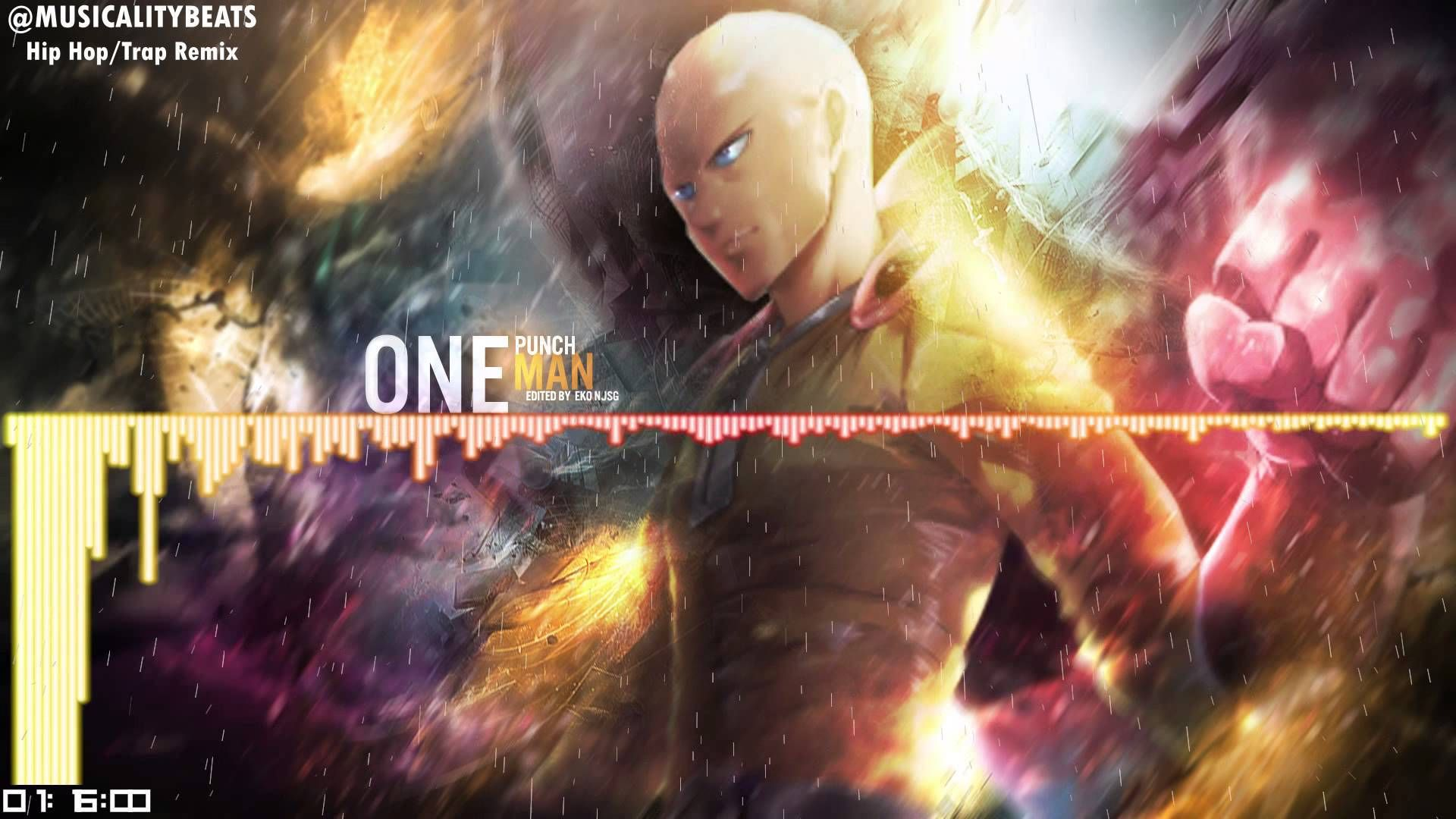 One Punch Man Opening The Hero Hip Hop Trap Remix