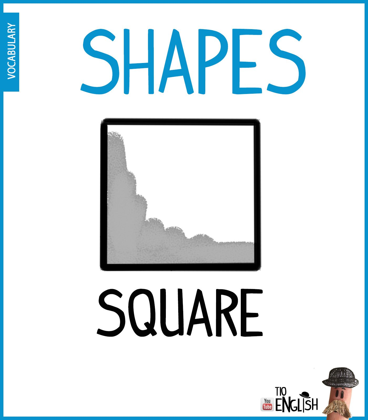 Square Learn Forms In English Shapes English