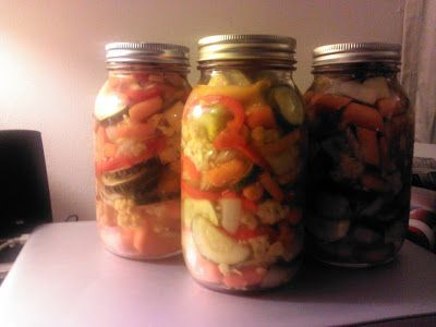 Classic Canning at it's Best - Jardiniere - Canning Homemade!