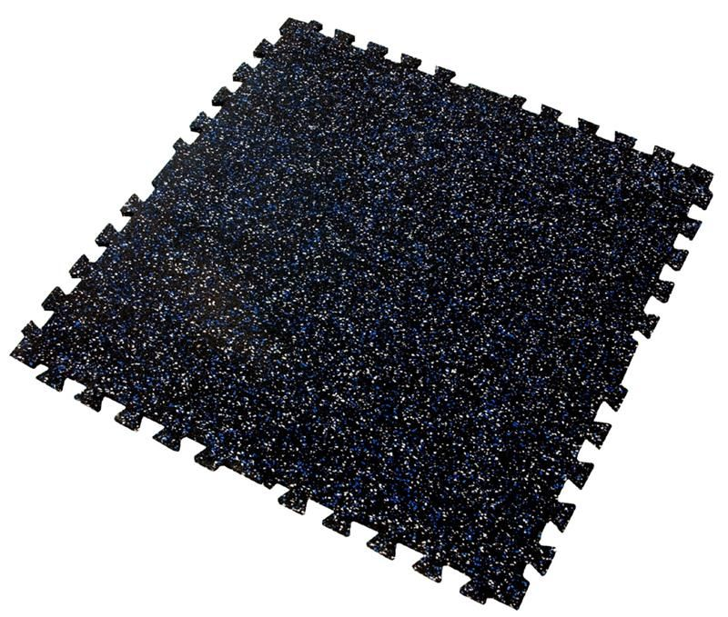 Iron-Lock Interlocking Rubber Puzzle Mats For Commercial Gyms 285