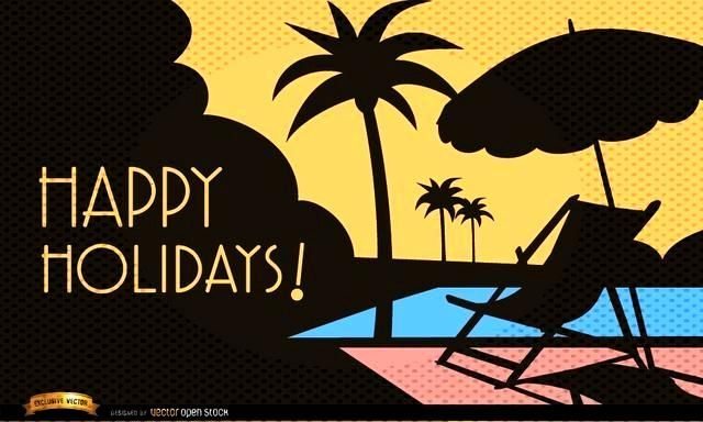 Vacations by the pool background, Vector by Vector Open Stock License: Attribution ID: 314937...
