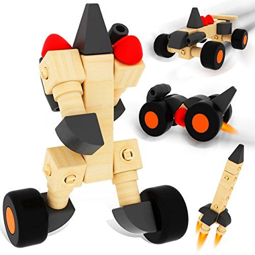 ColorGo Wooden Educational Toys Car Preschool Toddler STEM ...