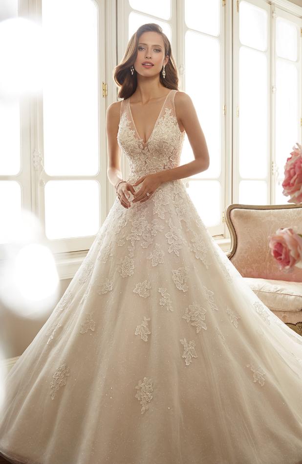 Spring 2017 Sophia Tolli Wedding Dresses   Novios, Vestidos de novia ...